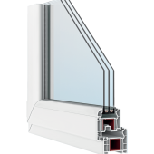 Профиль окна FORTE 70